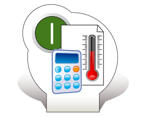 icon Temperatur transparent